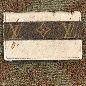Upcycled Louis Vuitton Credit Card Holder
